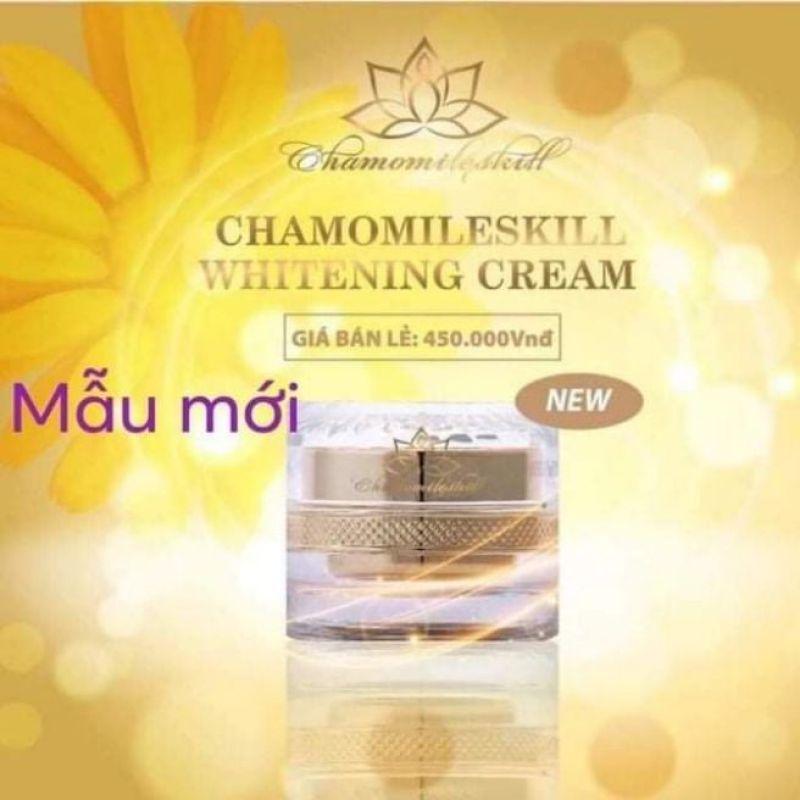 kem tái tạo chamomileskill mẫu mới ( tang bông rửa mặt) giá rẻ
