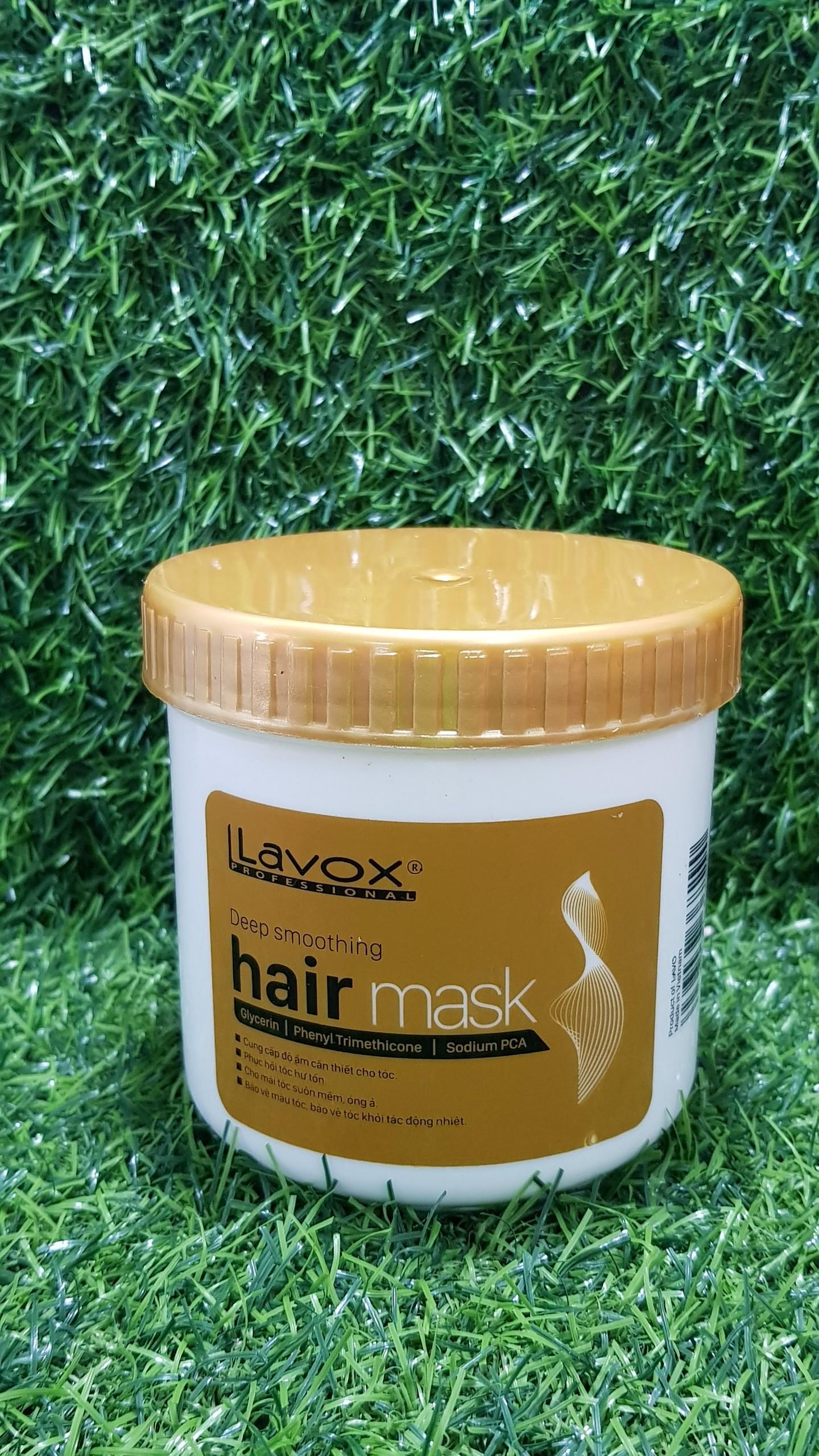 Kem ủ tóc siêu mềm mượt Lavox 500ml