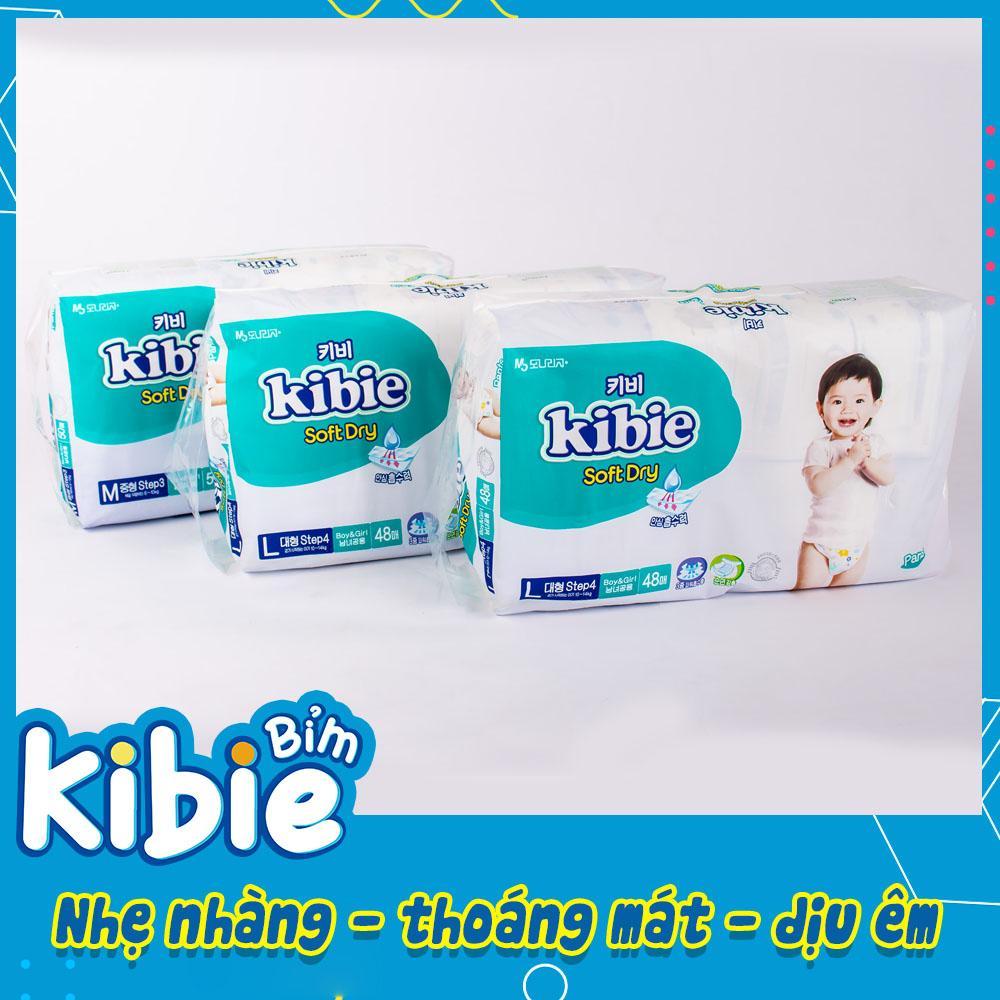 Bỉm quần Kibie cao cấp số 1 Hàn Quốc, bỉm quần kibie size L48 (9-14kg) - HABQL48