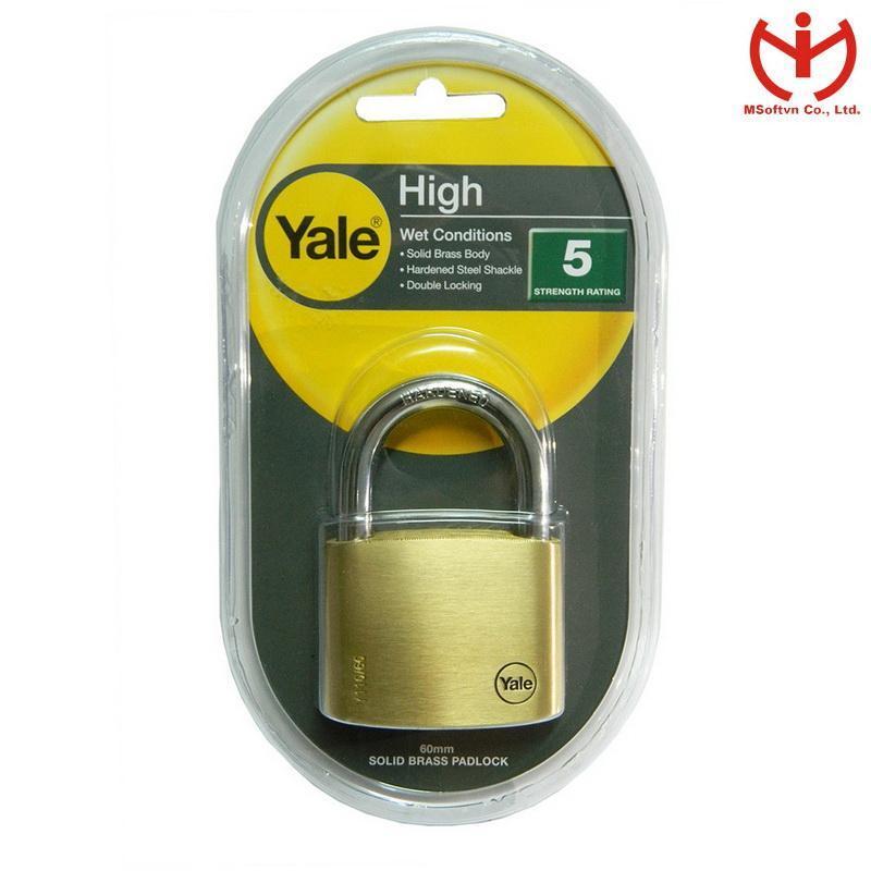 Khóa Yale Y110/60/135/1 (Vàng đồng)