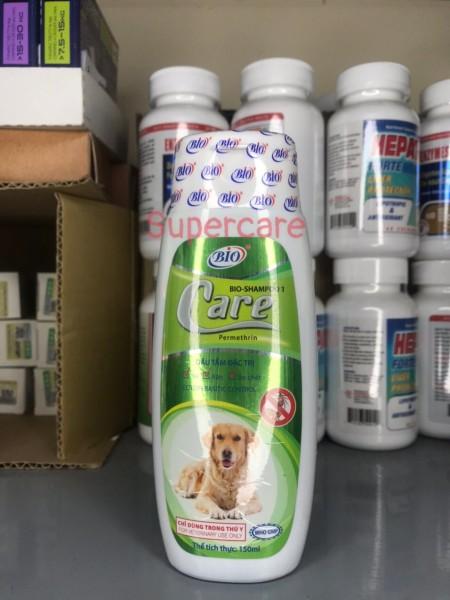 Sữa Tắm Bio Care 150ml Sạch Ve Bọ Chét Chó Mèo