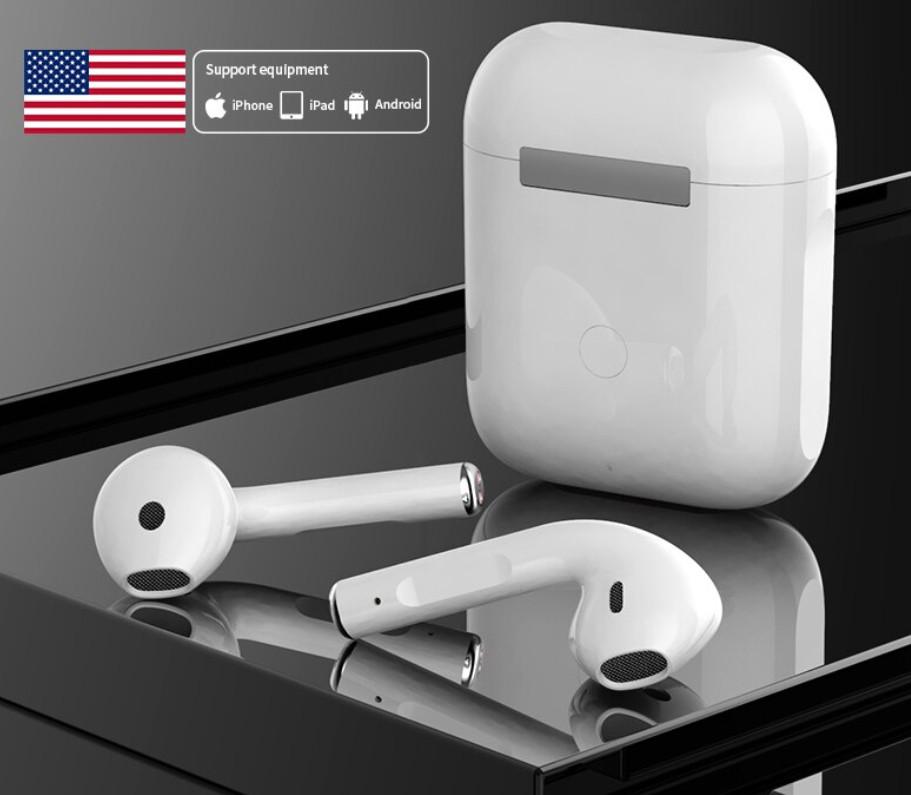 [XẢ KHO SIÊU SALE 50% ] Tai Nghe Airpods 2 Loại Xịn -Định Vị Đổi Tên, Pop Up Tự Động hàng Quốc Tế - Tặng Kèm Case iPod Chất Lượng - Full Chức Năng - Full Box - Tai Nghe iPod 1 - Tai Nghe iPod Pro - iPod ( BẢO HÀNH UY TÍN 12 THÁNG )