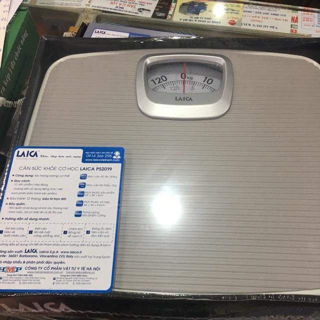 CÂN SỨC KHỎE LAICA PS2018 chính hãng