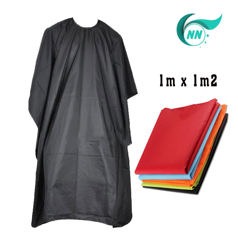 Áo choàng cắt tóc 1m x 1m2 chất liệu vải bình thường ( Màu ngẫu nhiên ) chính hãng