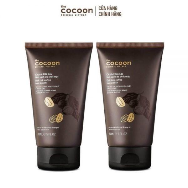[HCM]Cà Phê Đắk Lắk Làm Sạch Da Chết Mặt Cocoon 150ml
