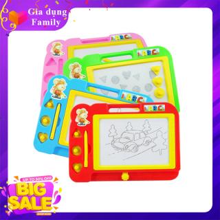 Bảng viết tự xóa cho bé, Bảng vẽ thông minh tự xóa giúp bé thoải mái sáng tạo thumbnail