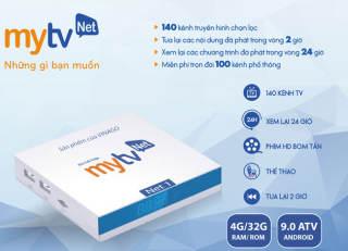 TV BOX MYTV NET 4G - MỚI NHẤT 2020 - ANDROID ATV 9.0