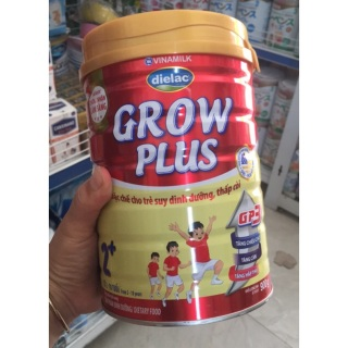 Sữa Bột Dielac Grow Plus Đỏ 2+ 900g Vinamilk. siêu thị trương vương thumbnail