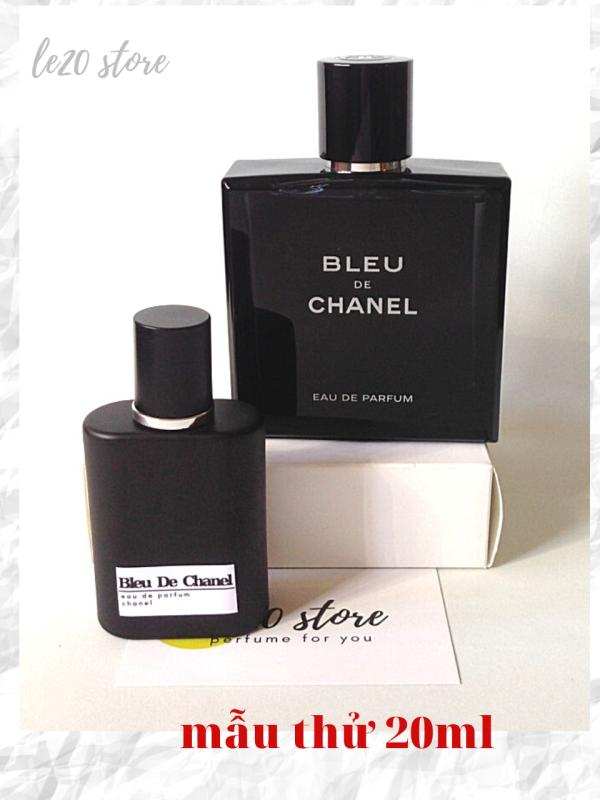 [Mẫu thử 20ml] Nước hoa nam cao cấp Bleu De Chane EDP  - Nước Hoa Nam Chính Hãng - nuoc hoa chanel - nuoc hoa nam