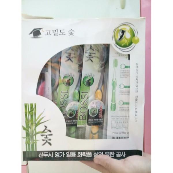 SỈ LỐ Hộp 30 cây Bàn Chải Đánh Răng Than Hoạt Tính, Bàn Chải Đánh Răng Hàn Quốc Đầu Lông Mềm Mại Bảo Vệ Răng Nướu TẠI TÁO STORE 888