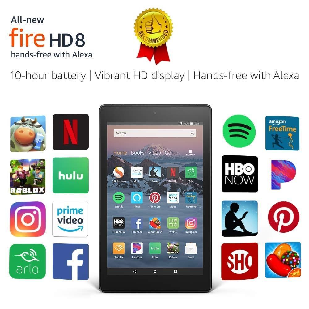 |1 Đổi 1 trong 3 tháng | Máy Tính Bảng Kindle Fire HD8 - Thế hệ 8 mới nhất. Nhật Bản