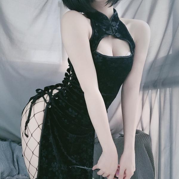 Nơi bán Đồ cosplay sườn xám sexy váy nữ mặc ở nhà sang chảnh