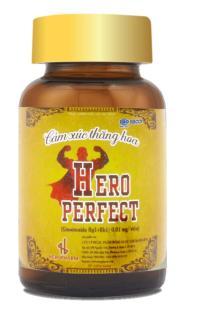 Viên uống tăng cường sinh lý nam Hero Perfect - H30v thumbnail