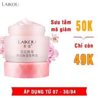 Kem dưỡng ẩm sáng mịn và trẻ hóa làn da LAIKOU kem dưỡng ẩm cho da mặt 50g XP-KDA02 thumbnail