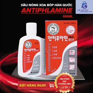Dầu Nóng Xoa Bóp Giảm Sưng Tấy - Giảm Đau Hàn Quốc Antiphlamine 100ml thumbnail