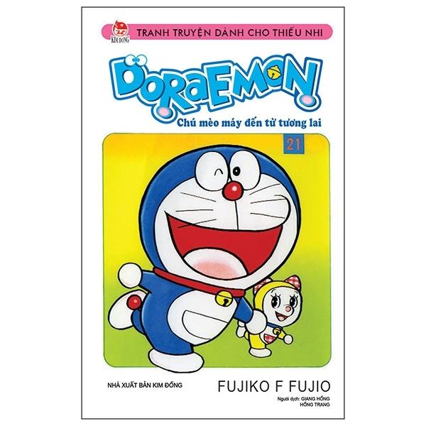 Fahasa - Doraemon Truyện Ngắn - Tập 21 (Tái Bản 2019)