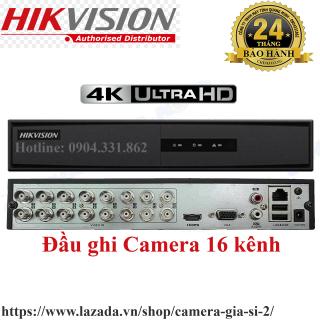 Đầu ghi hình camera 16 kênh 2.0mp HIKVISION chính hãng Bảo hành 2 năm 7216HGHI ( DS-7216HGHI-K1 ) thumbnail