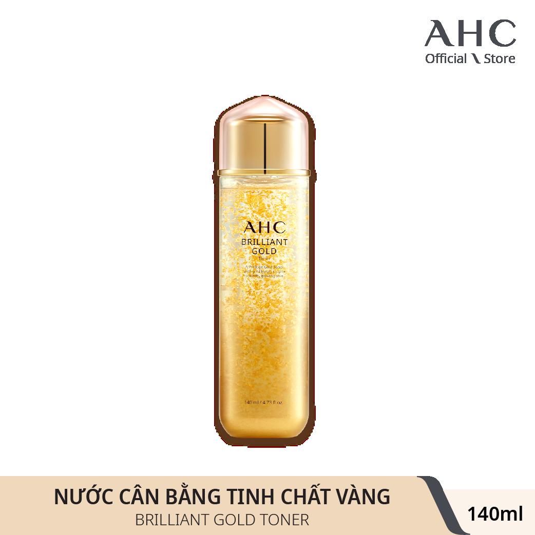 Nước Cân Bằng Tinh Chất Vàng AHC Brilliant Gold Toner 140ml