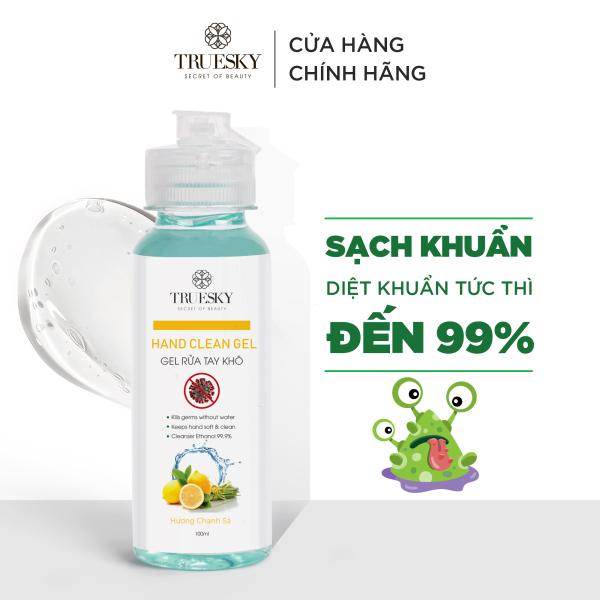 Nước rửa tay khô sát khuẩn Truesky hương chanh sả 100ml giá rẻ