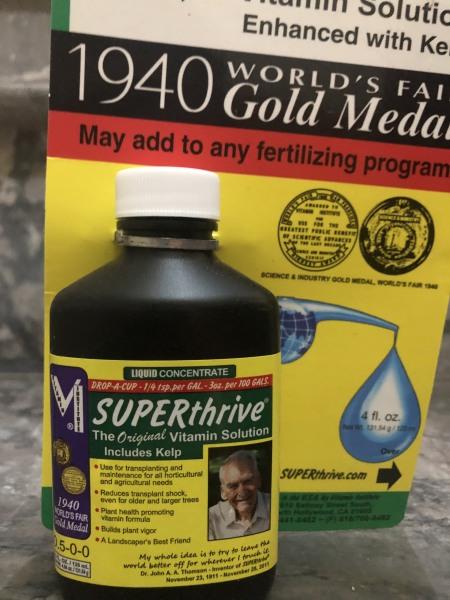 Super thrive 120ml tăng trưởng cho hoa lan nhập khẩu Mỹ