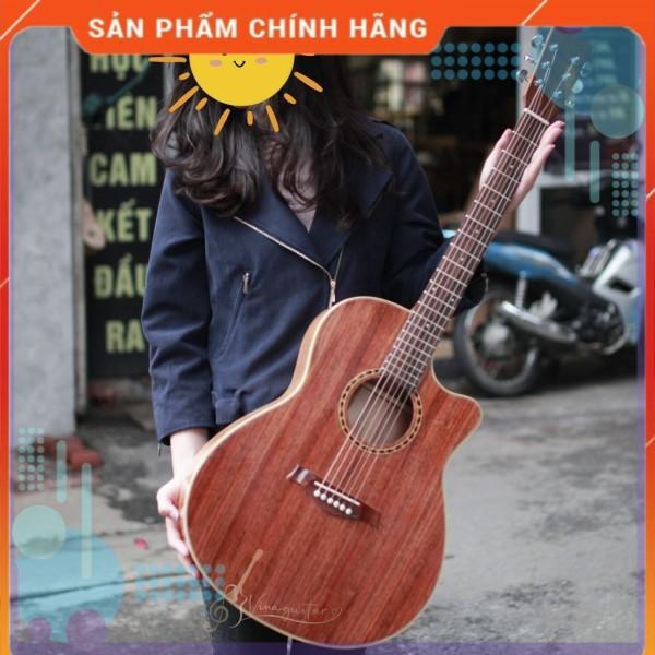 Đàn guitar VG-DFHD Gỗ Hồng Đào Nguyên Tấm- Tặng Full Phụ Kiện - Phân phối chính hãng bởi nhaccu3so