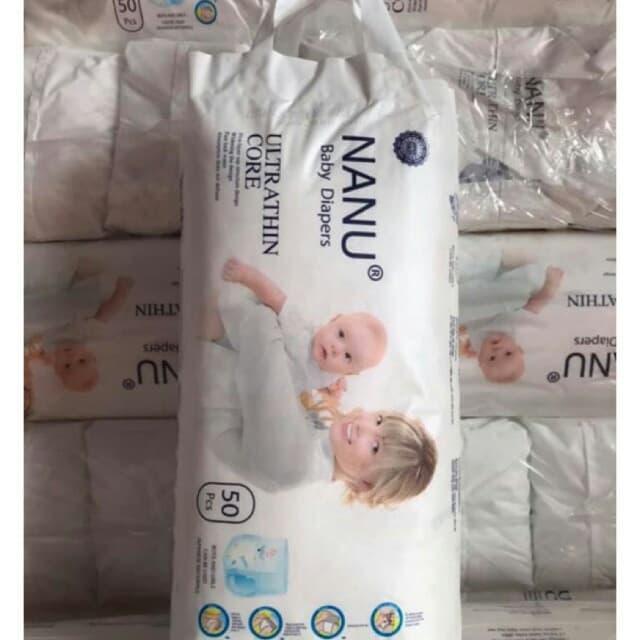 Voucher Khuyến Mãi Bỉm Quần Nanu Baby đủ Sz M50 / L50 / XL50 / XXL50 / XXXL50 Mẫu Mới.