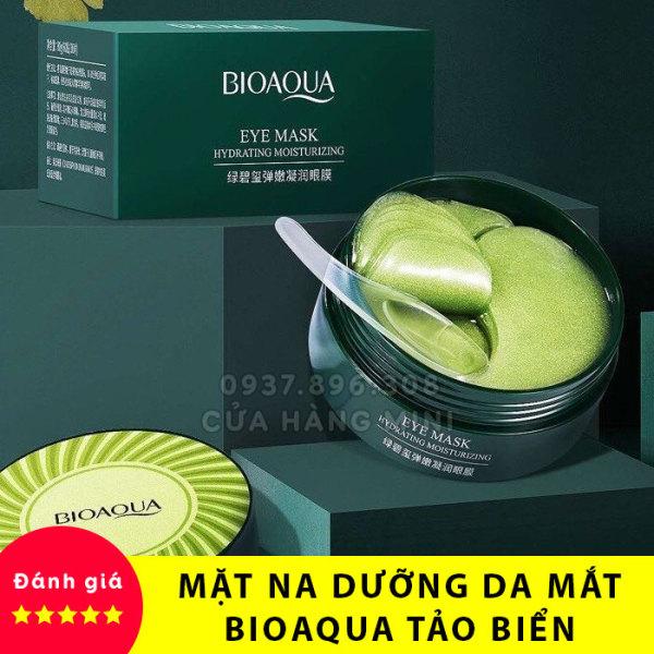 【HOT】 Mặt Nạ Dưỡng Ẩm Cho Mắt Bioaqua Tảo Biển (Xanh) - 60 Miếng giá rẻ
