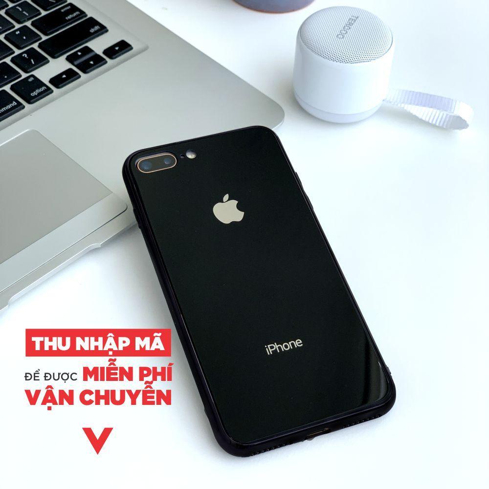 ỐP LƯNG GƯƠNG KÍNH CHO IPhone  6/6S  6plus / 6splus Iphone 7/ 8 Iphone 7plus/ 8 Plus  MR CAU Khuyến Mại Hot