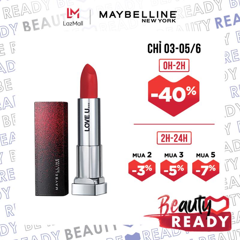 Son Lì Mịn Môi Dưỡng Môi Maybelline New York Love Notes Phiên Bản Giới Hạn Color Sensational Lipstick 3.9g giá rẻ