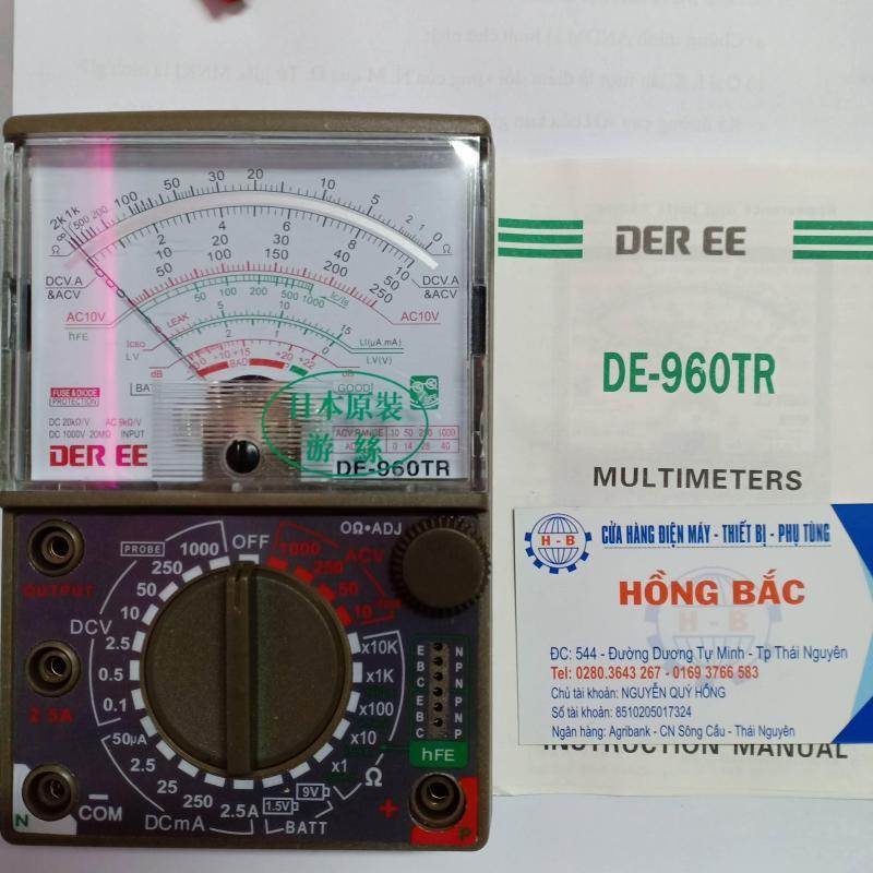ĐỒNG HỒ ĐO VẠN NĂNG SAMWA DE-960TR