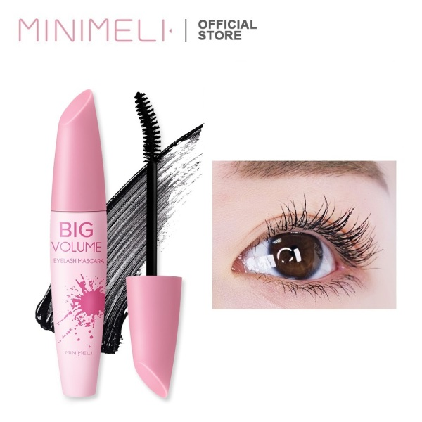 MINIMELI 3D Mascara Waterproof Makeup Lengthen Eyelashes Cosmetics