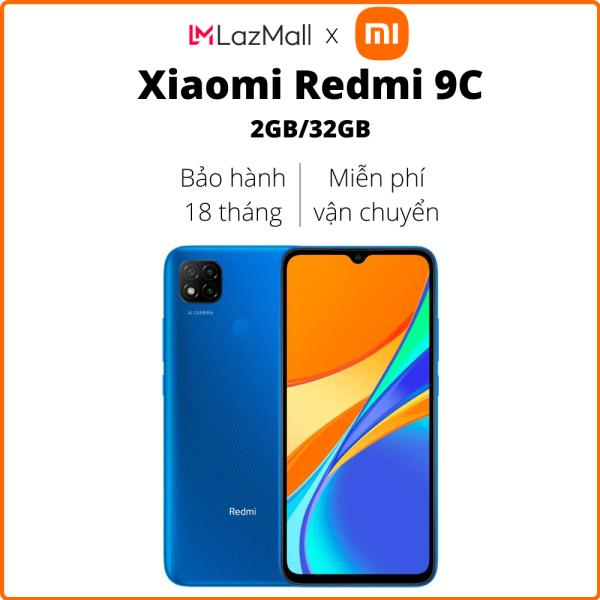 Điện thoại Xiaomi Redmi 9C (2GB/32GB) - Hàng chính hãng DGW - Bảo hành 18 tháng - Trả góp 0%