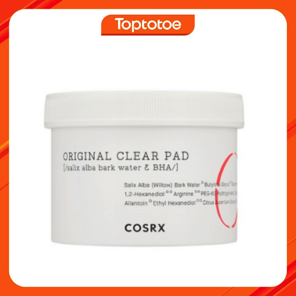Bông Tẩy Da Chết Cosrx One-Step Original Clear Pad 70 Sheets