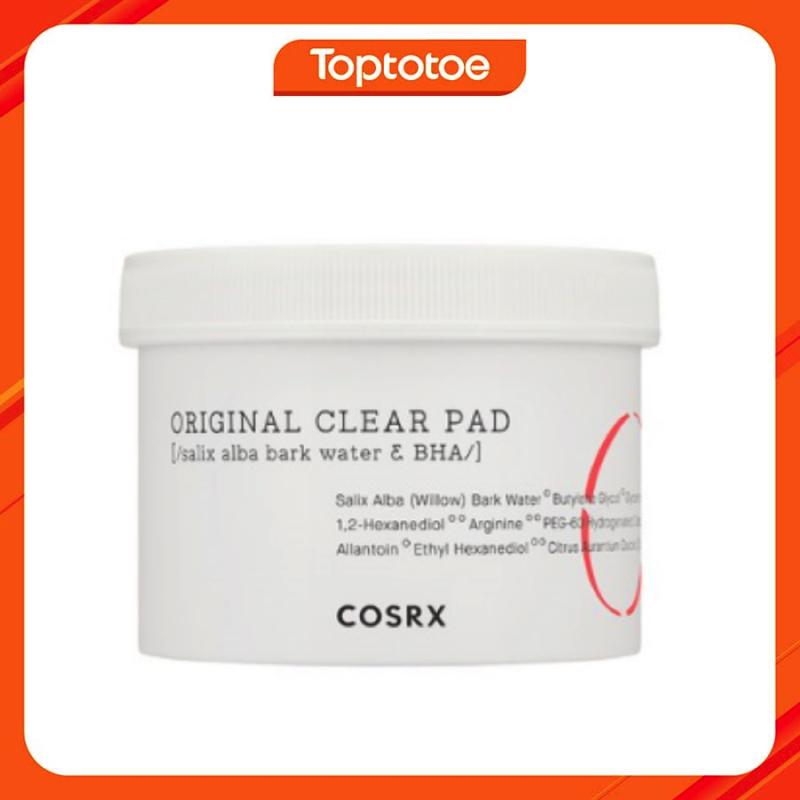 Bông Tẩy Da Chết Cosrx One-Step Original Clear Pad 70 Sheets