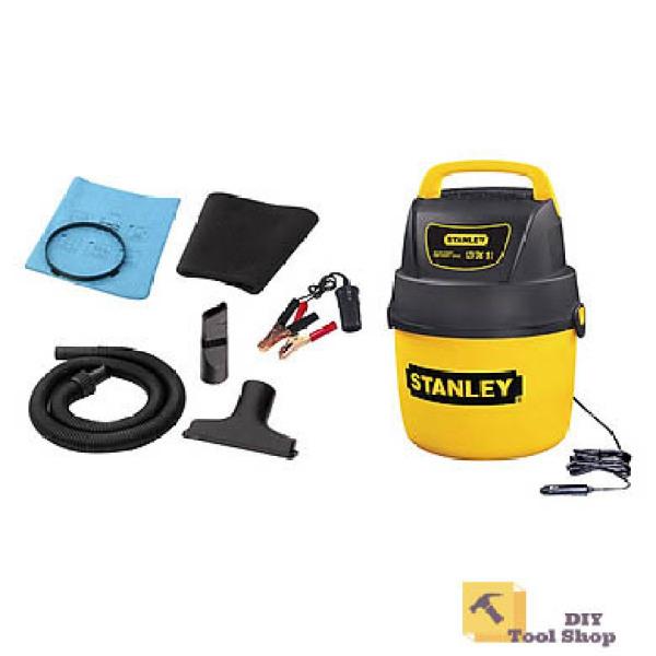 Máy hút bụi ướt / khô hiệu Stanley USA - SL18125DC dùng cho ôtô nguồn điện 12V dc - Chính Hãng