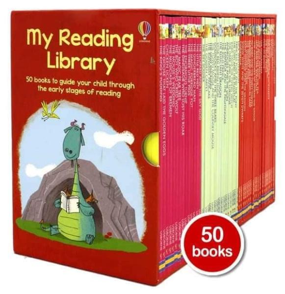 Usborne My Reading Library (Bộ Đỏ)