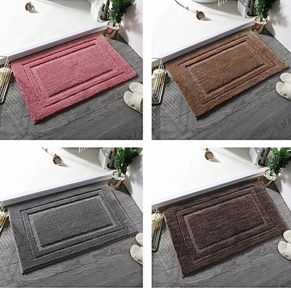[ 40x60cm ] Thảm lông chùi chân phòng tắm nhiều màu sắc cao cấp