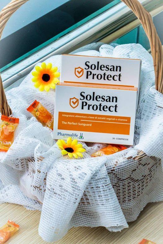 Viên uống chống nắng trắng da Solesan Protect | Lazada.vn