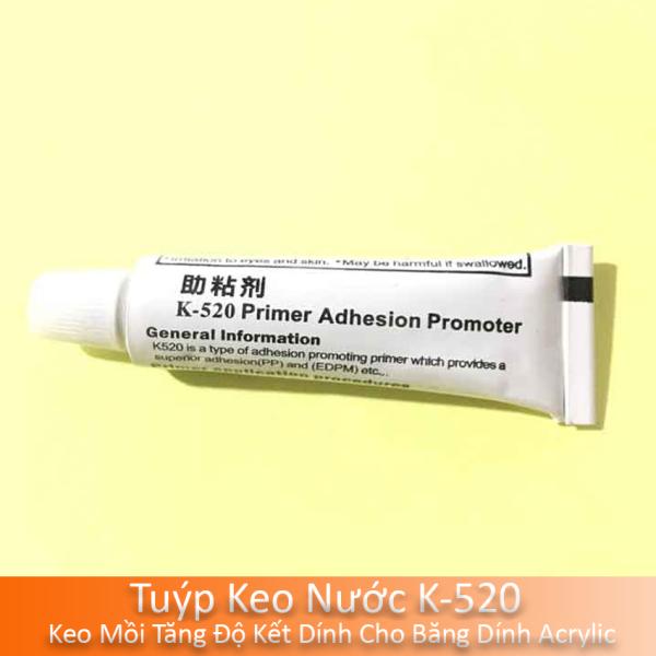 Tuýp Keo Nước K-520, Keo Mồi Tăng Độ Kết Dính Cho Băng Dính Acrylic