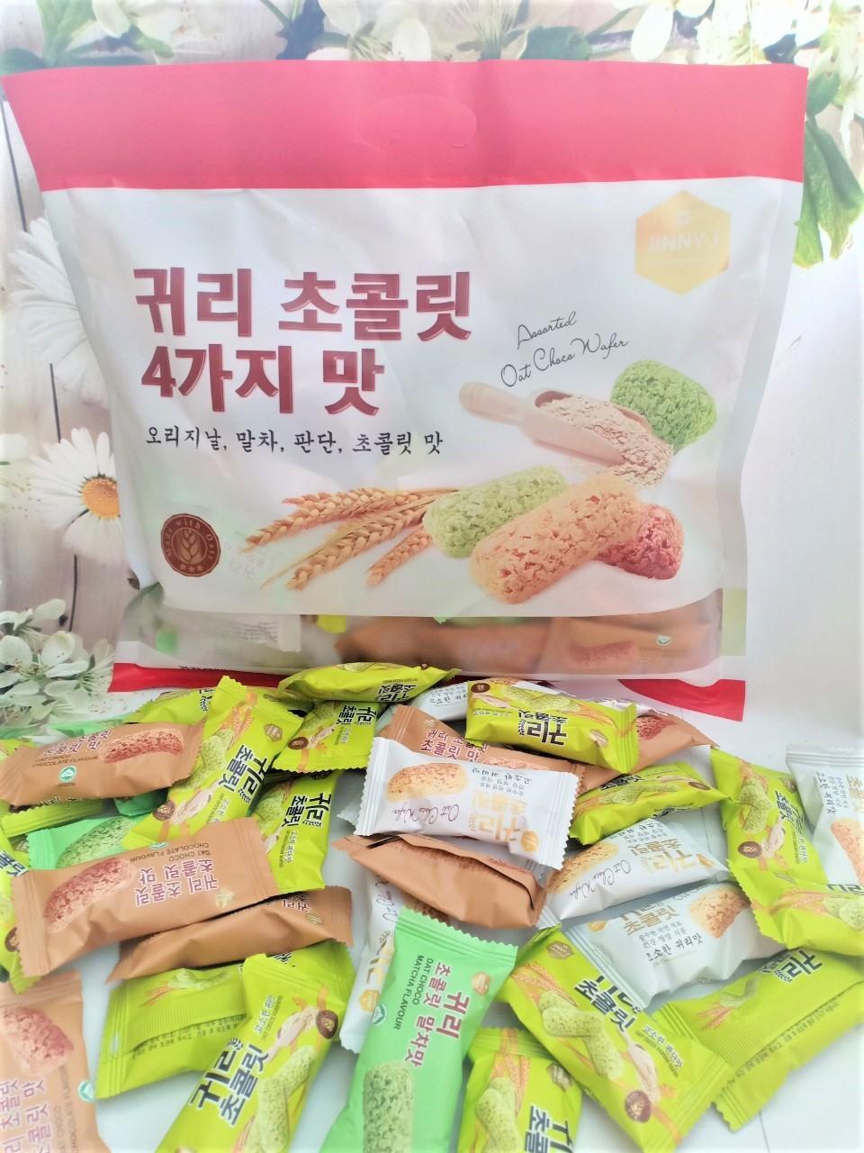 Bánh Yến Mạch Thập Cẩm Hàn Quốc 380g