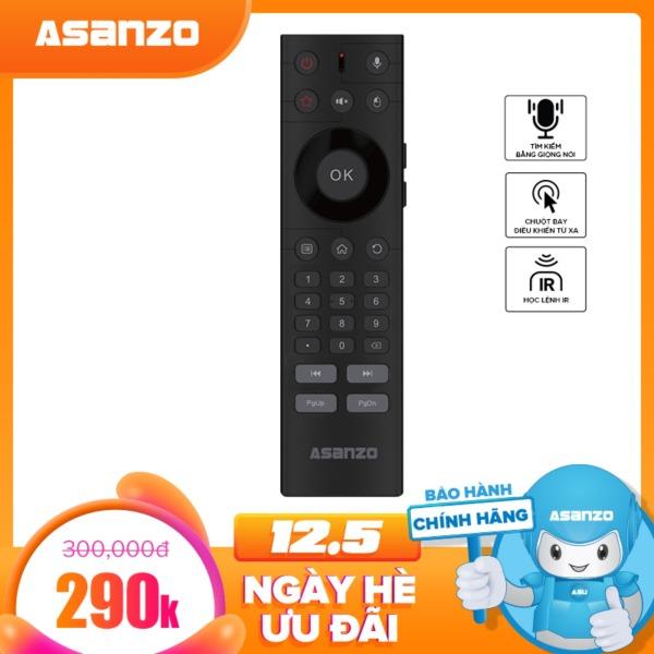 Bảng giá Remote tìm kiếm giọng nói kiêm chuột bay Asanzo RC01V (tiện dụng, học lệnh IR, tìm kiếm bằng Google, cổng cắm USB). Hàng Phân Phối Chính Hãng Bảo hành 3 tháng Điện máy Pico