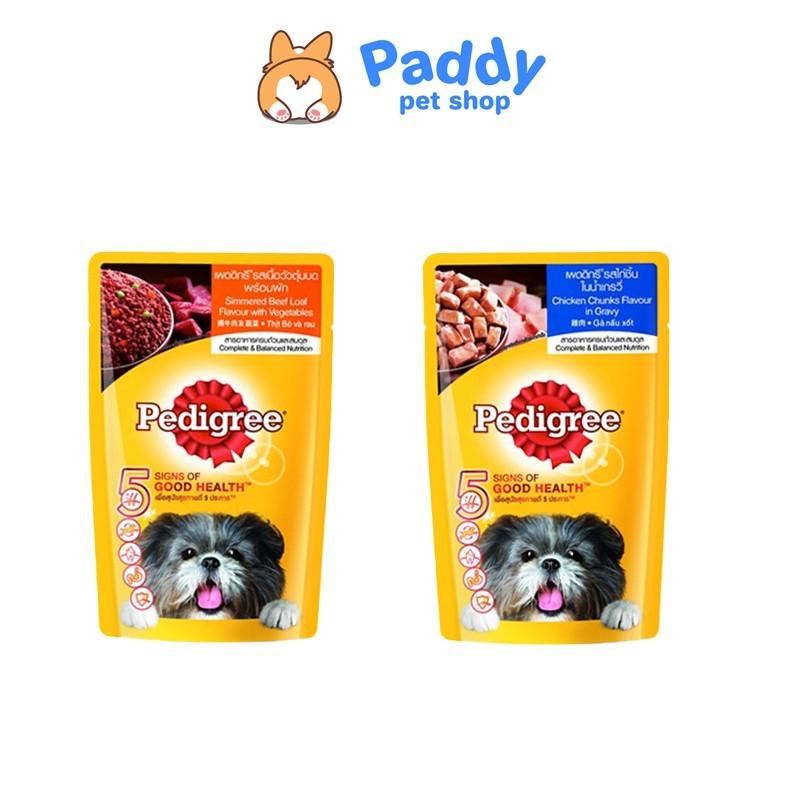 [130g] Pedigree Pate cho chó lớn - Gà nấu sốt