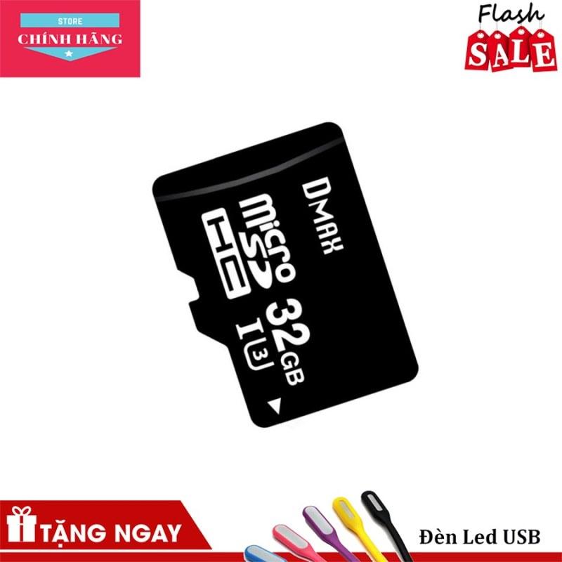 Thẻ nhớ 32Gb tốc độ cao U3, up to 90MB/s Dmax Micro SDHC