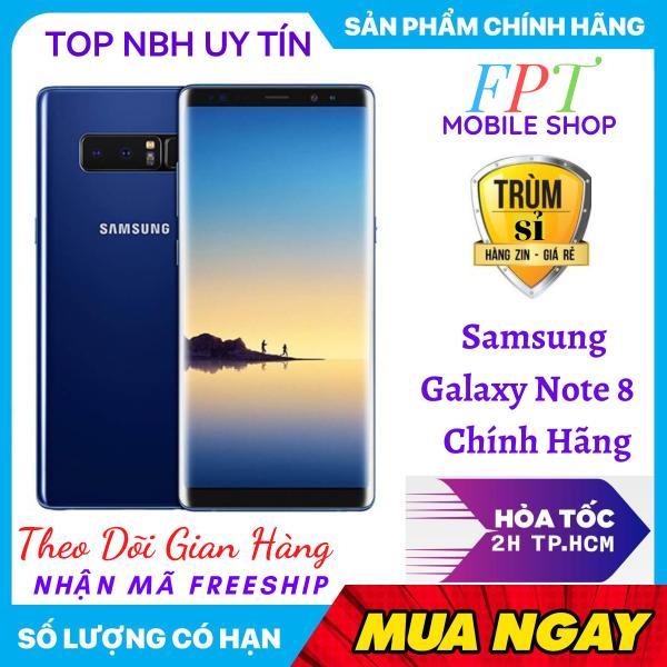 [HCM]Điện Thoại Samsung Note 8 Chính Hảng bản Quốc Tế (CPU Snapdragon) Ram 6G bộ nhớ 64G mới Màn hình: Super AMOLED 6.3 Quad HD+ (2K+)- chơi LIÊN QUÂN mượt CÂN TẤT CẢ CÁC THỂ LOẠI GAME