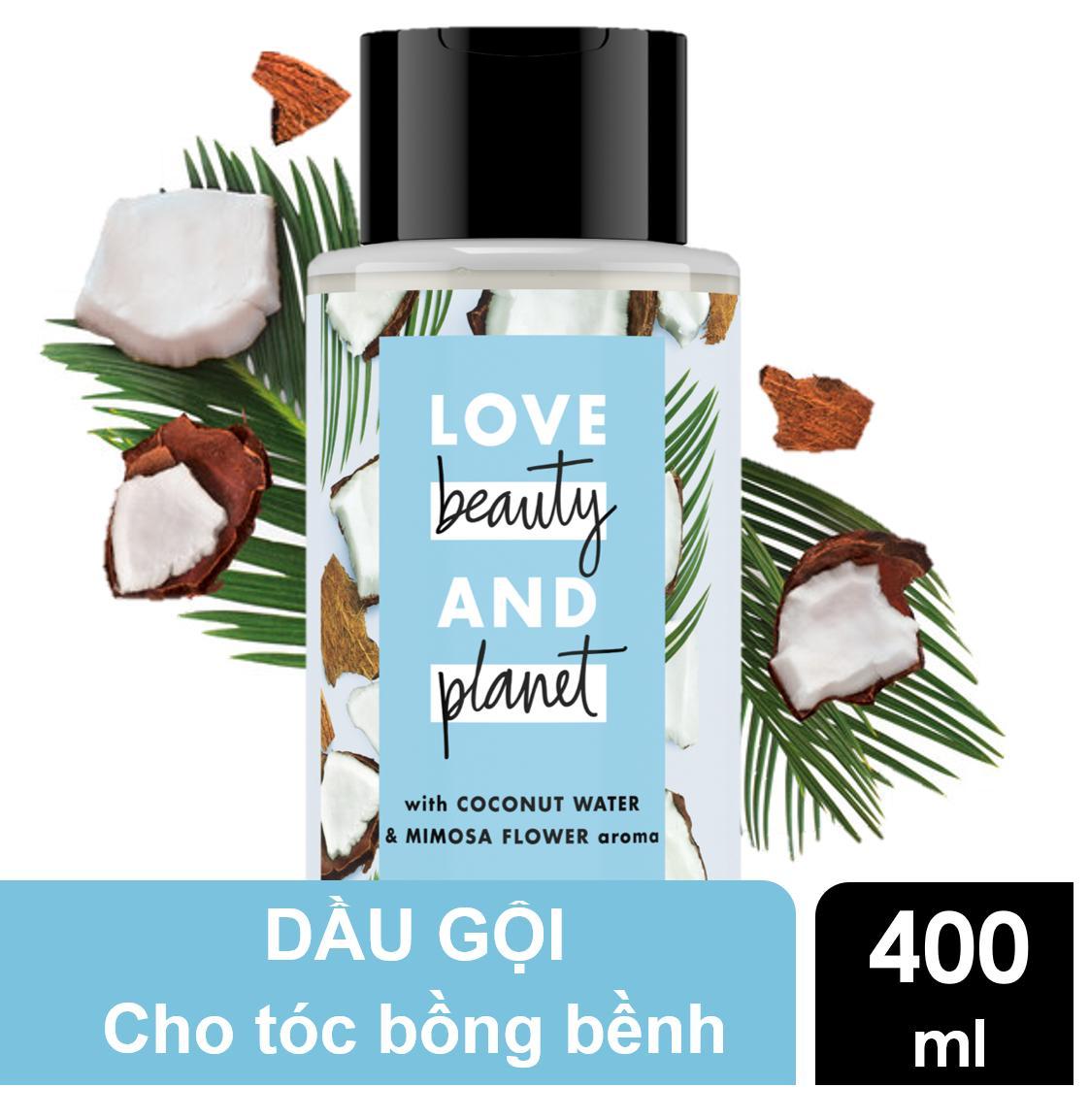 Dầu gội tóc bồng bềnh Love Beauty And Planet Volume and Bounty 400ml tốt nhất