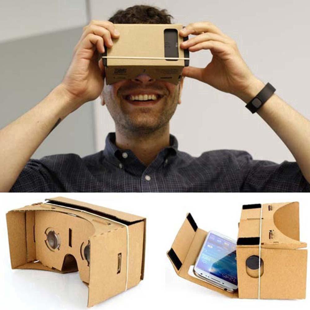 Kính Thực Tế Ảo Google Cardboard bìa Carton