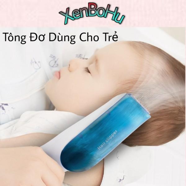 Tông Đơ Cắt Tóc Trẻ Em - Tông đơ cắt tóc cho bé - Tăng đơ cắt tóc trẻ em 2 chế độ hút mạnh mẽ nhập khẩu