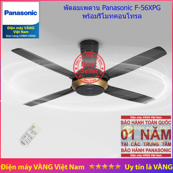 Quạt trần 4 cánh Panasonic F-56XPG