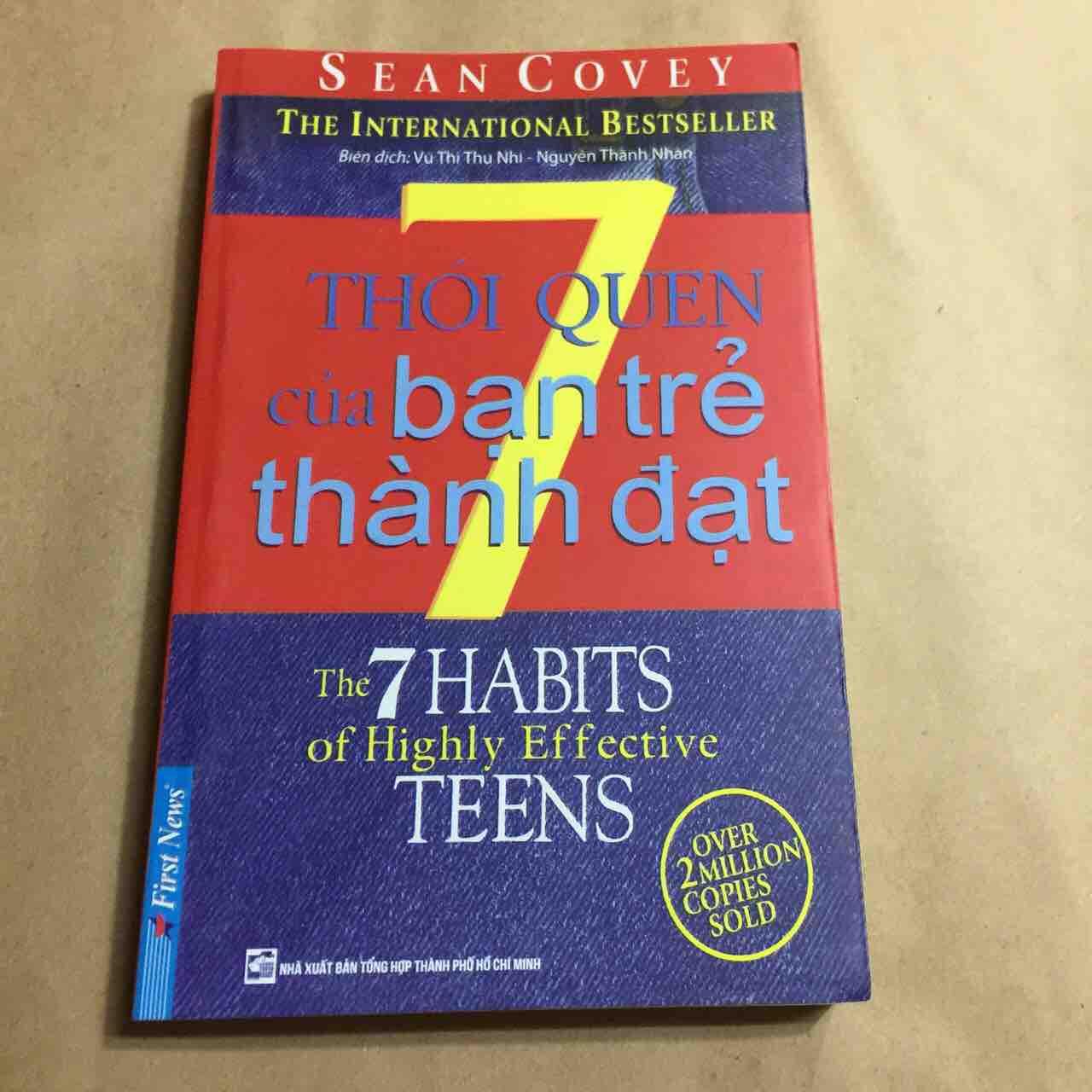 7 thói quen để thành đạt của bạn trẻ