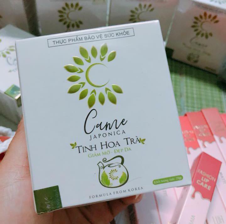 2 hộp- Viên Uống Giảm Cân Tinh Hoa Trà CAME JOPONICA - Giảm Cân hiệu quả nhập khẩu